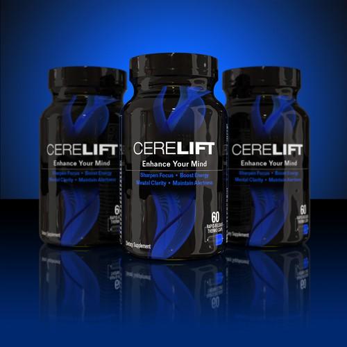 CERELIFT label design
