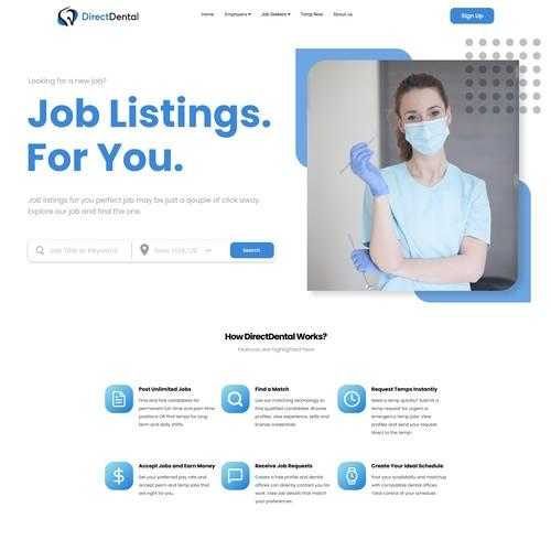 Dental Jobs Portal