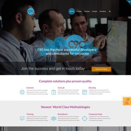 Corporate -Consulting-Website