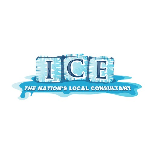 Logo for ICE