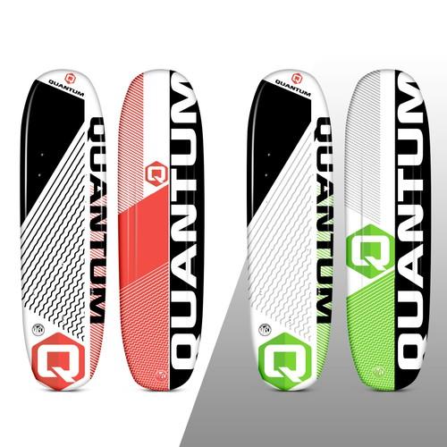 Quantum Water Ski