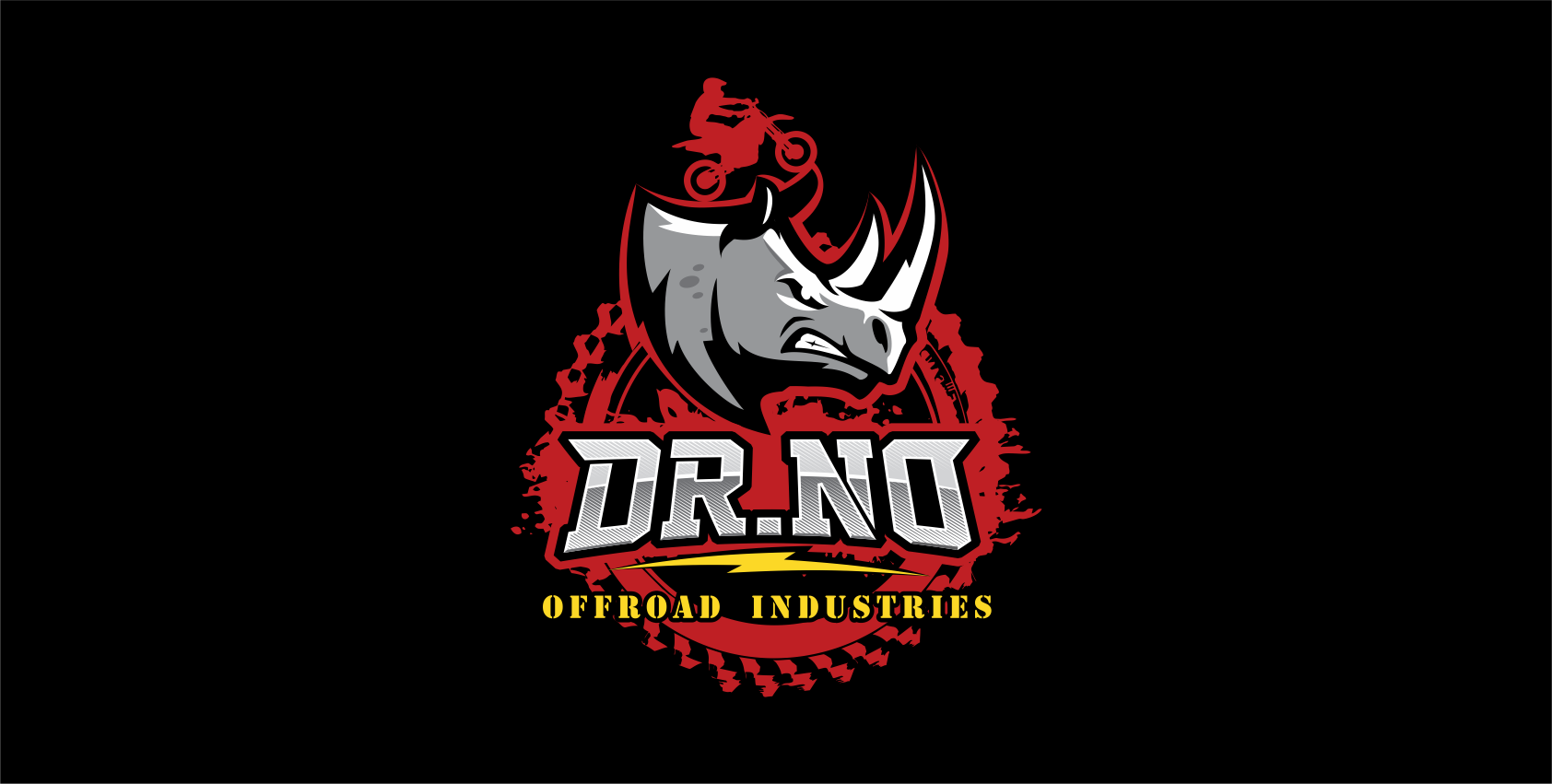 Design a badass logo for Dr No Off-Road Industries