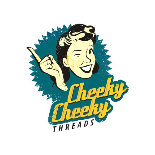 Logo wanted for Cheeky Cheeky Threads