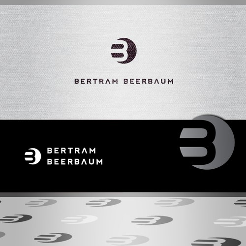 Create a logo for the Dutch interior designer: Bertram Beerbaum