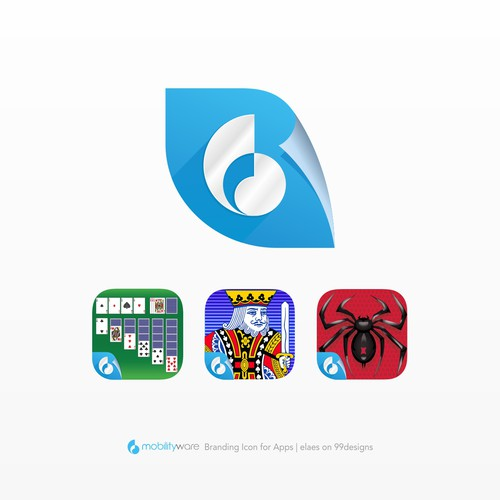 Mobilityware Label Icon Design