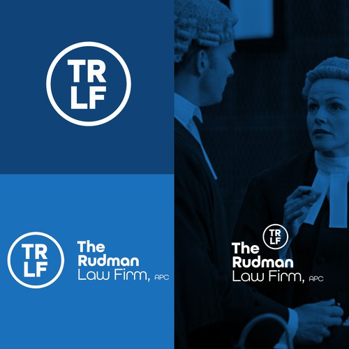 MINIMAL LOGO DESIGN FOR RUDMAN LAW FIRM