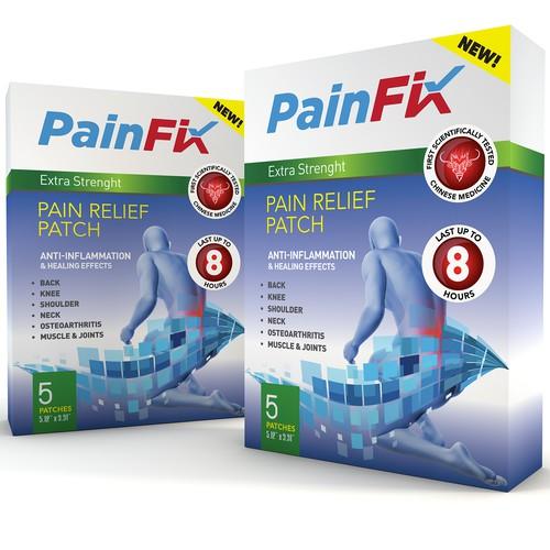 Pain Fix Patch box