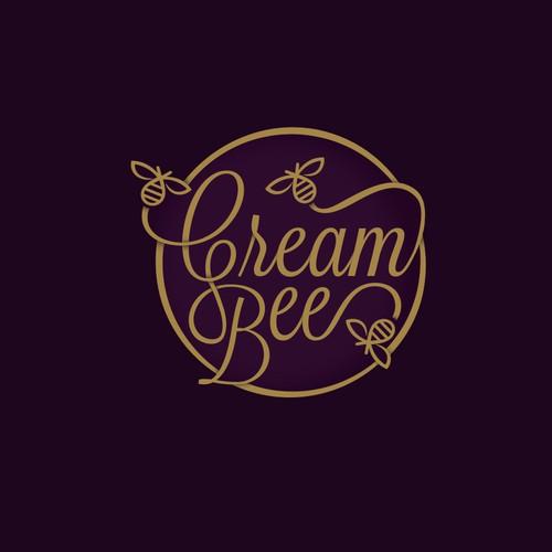 cream bee logo