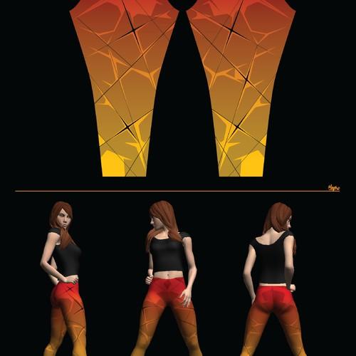 Design Bombsheller Leggings