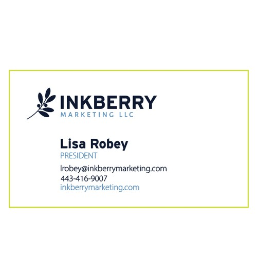 Inkberry Business Card