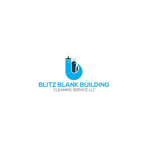 Logo for Building Cleaning Service
