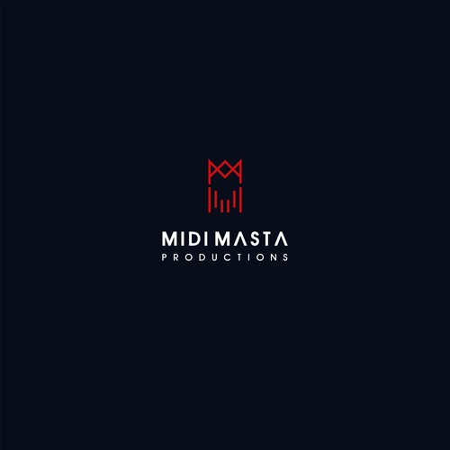 Music Production Logo