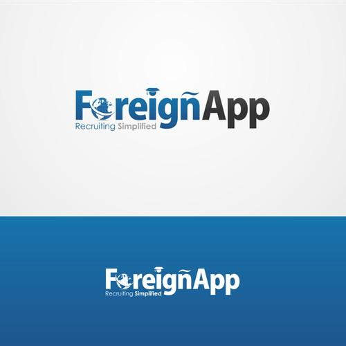 New Startup ForeignApp Needs Logo