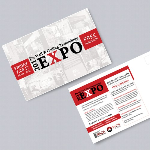 Bold Postcard Concept for Home Improvement Expo