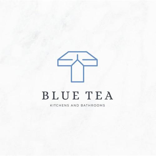 Logo Design - Blue Tea