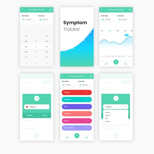 Symptom Tracker app