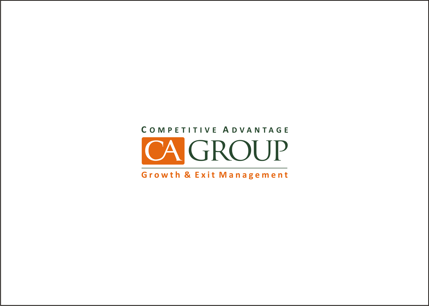 New logo wanted for COMPETITIVE ADVANTAGE GROUP