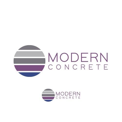 Modern Concrete - Winning Logo Design