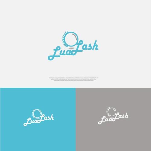 Logo design for eyelashes company