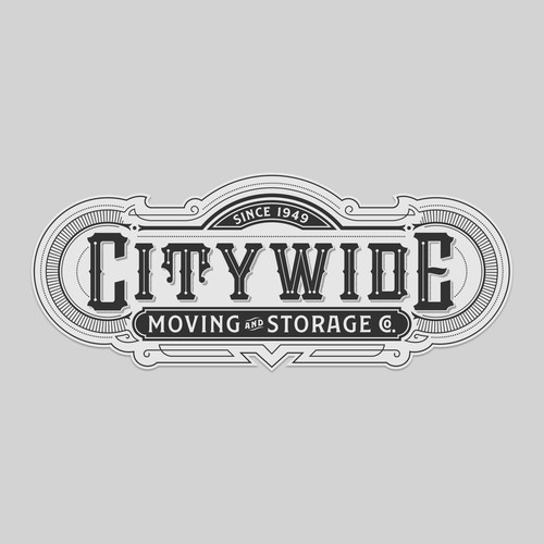 Vintage style Moving Company