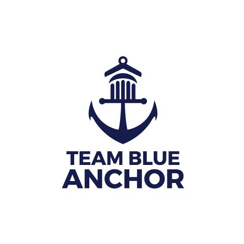 Team Blue Anchor