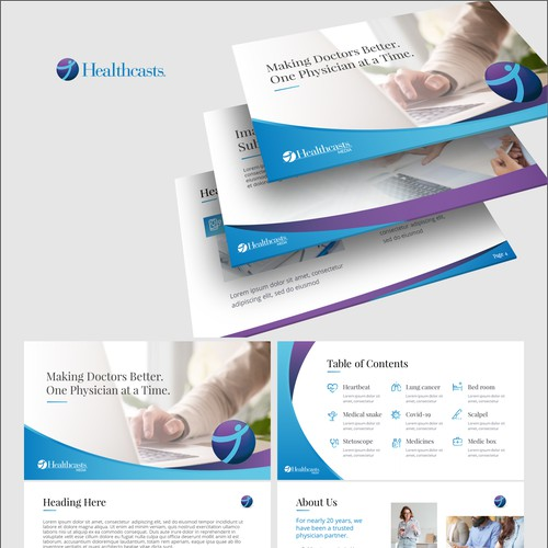 Healthcase template