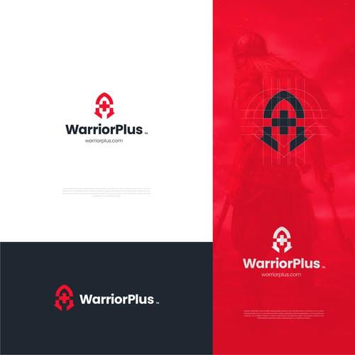 WarriorPlus logo design