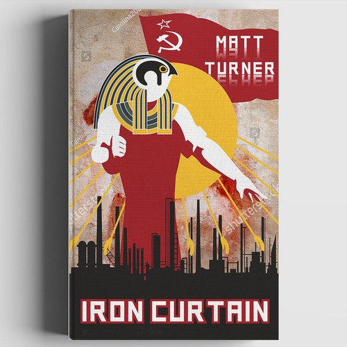"""Book cover """"Iron Curtain"""""""