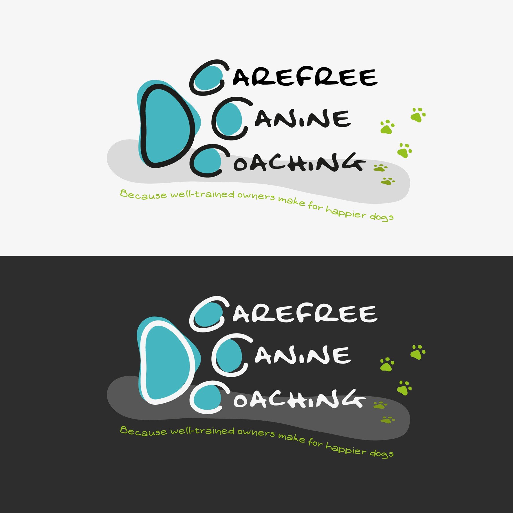 Carefree Canine Coaching is going to the dogs!  Help create a logo to show the owners we mean business!