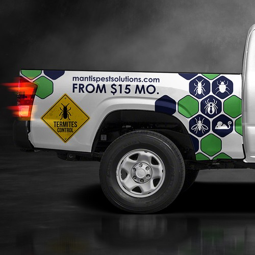 Truck Bed Design for a Pest Company