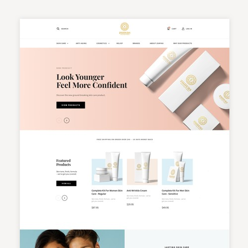 Cosmetic eCommerce Store