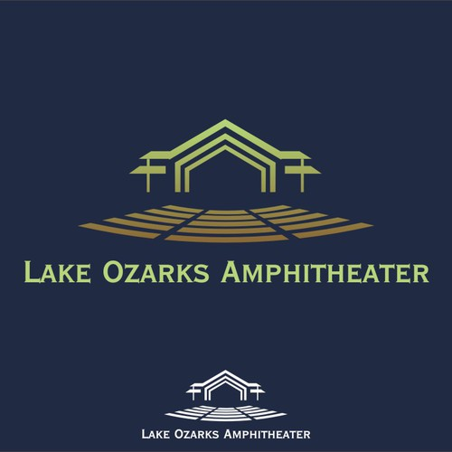 Create the next logo for Lake Ozarks Amphitheater