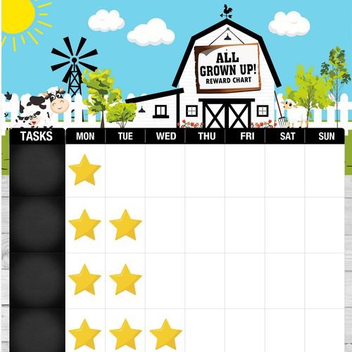 Reward Chart for Children