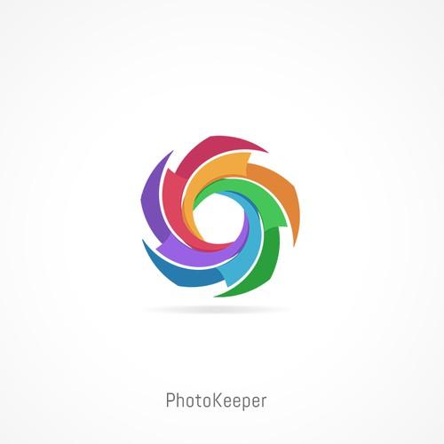 Icon cloud photo backup app