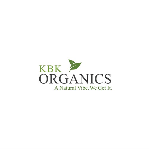 Logo concept for organic cosmetic products.