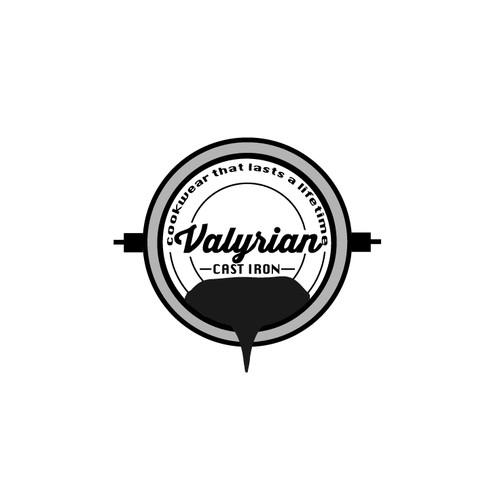 Create a capturing Cast Iron Cookware Logo