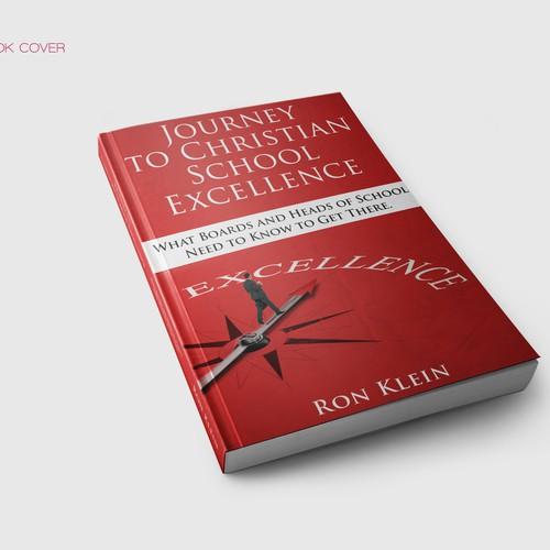 Book Cover concept for Ron Klein