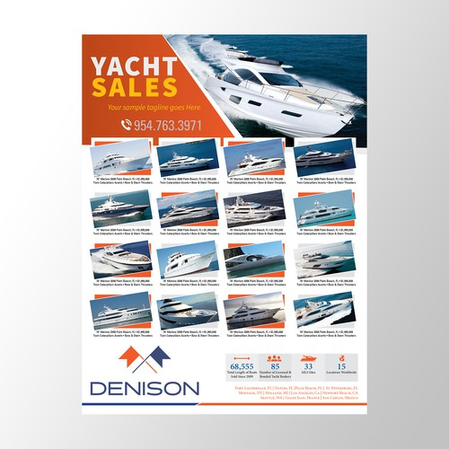 Yacht Sales Advertising Concept for DANISON