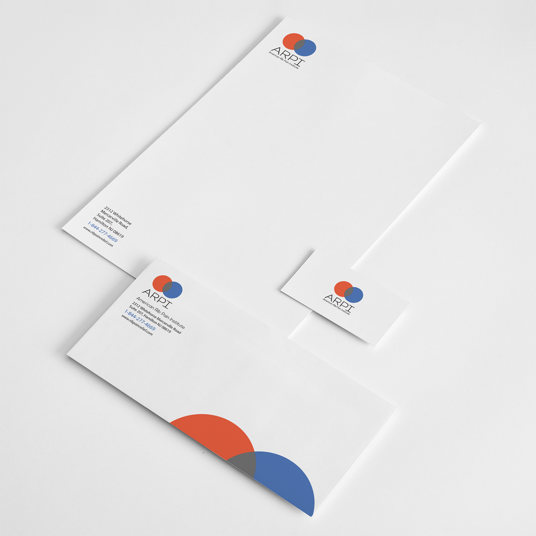 Design business card, letterhead and envelope design