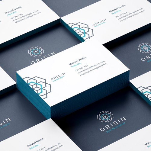 Professional and simple business card