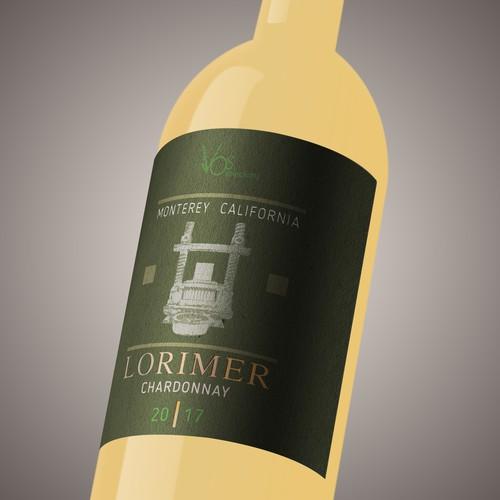 Wine label LOROMER_CH_