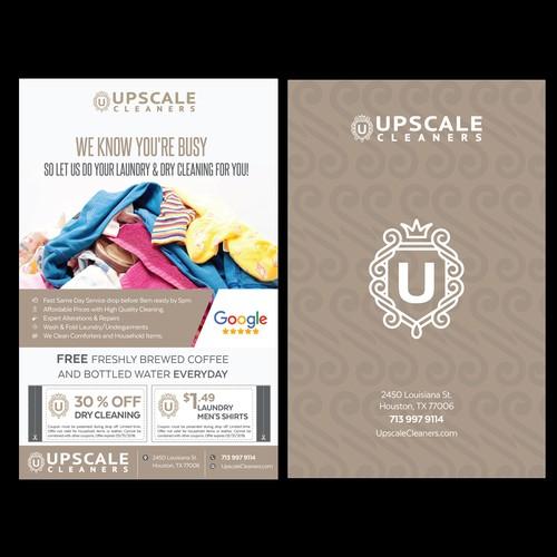 Upscale flyer