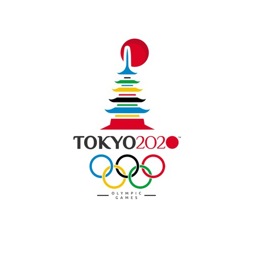 Tokyo 2020 OLYMPIC GAMES logo !!