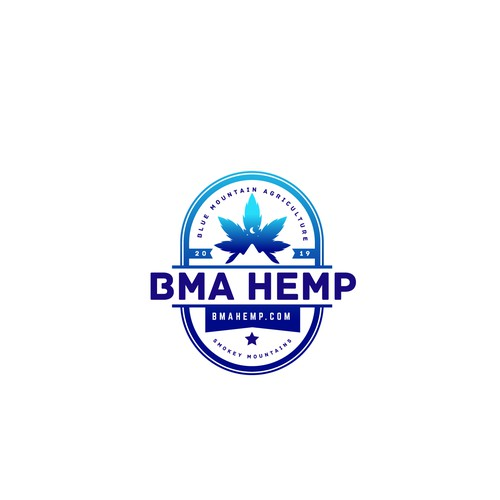 BMA Hemp - logo design