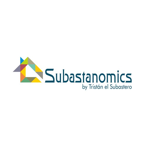 """Logo design concept for Real Estate Consulting Called """"Subastanomics"""""""