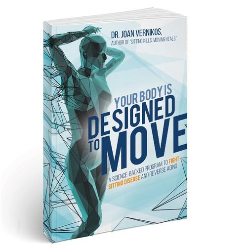 Designed to Move - Cover design