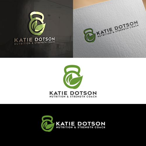 Katie Dotson Nutrition & Strength Coach logo