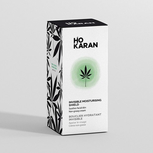 Packaging for cannabis sativa skincare