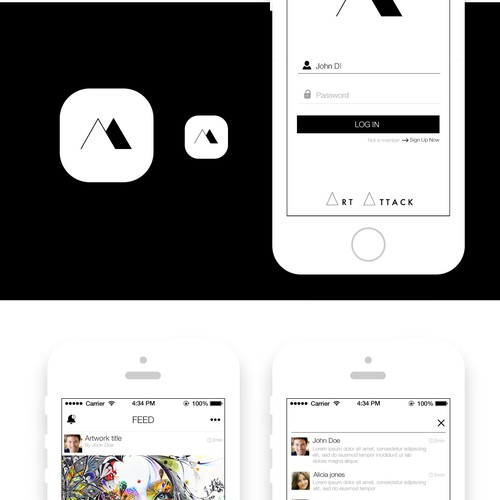 Create Screens the First Art-focused Mobile Social Network