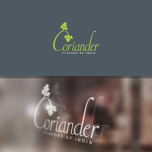Coriander Logo design